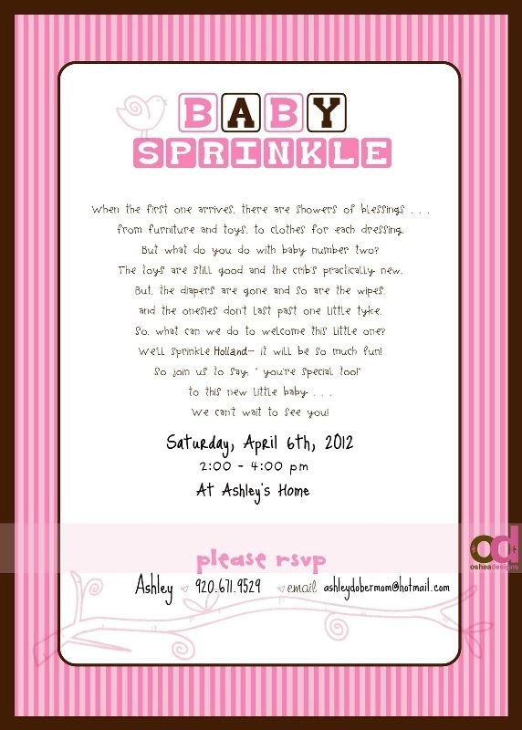 baby sprinkle invitation love this idea for my friend s baby