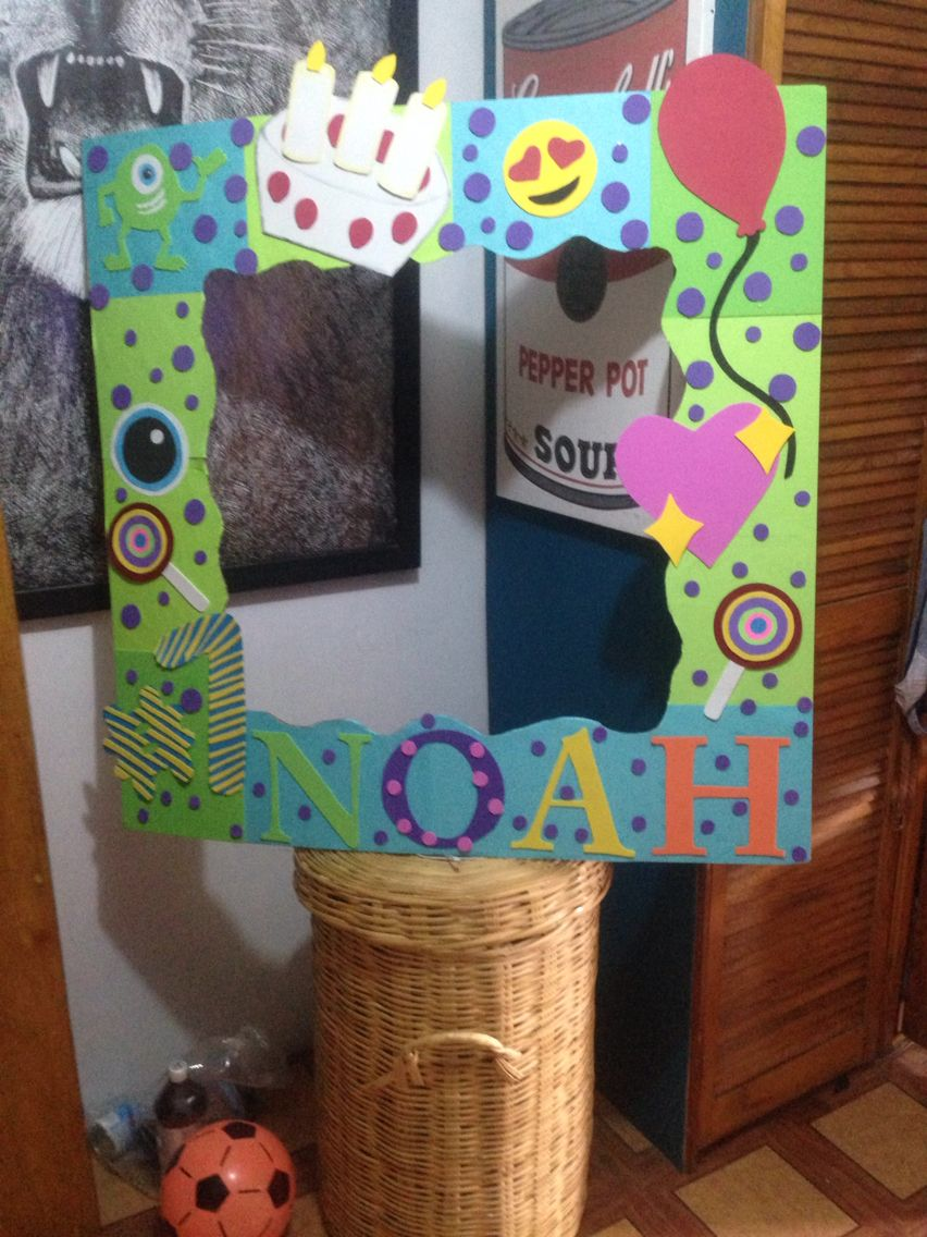 Marco para fiesta monsters inc photo frames pinterest monsters marco para fiesta monsters inc voltagebd Images