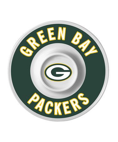 Take a look at this Green Bay Packers Dip Serving Tray by NFL Game ...