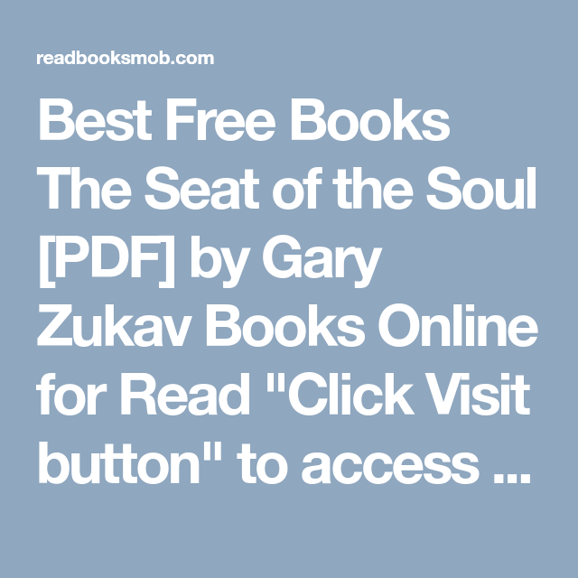 Best free books the seat of the soul pdf by gary zukav books best free books the seat of the soul pdf by gary zukav books online fandeluxe Gallery