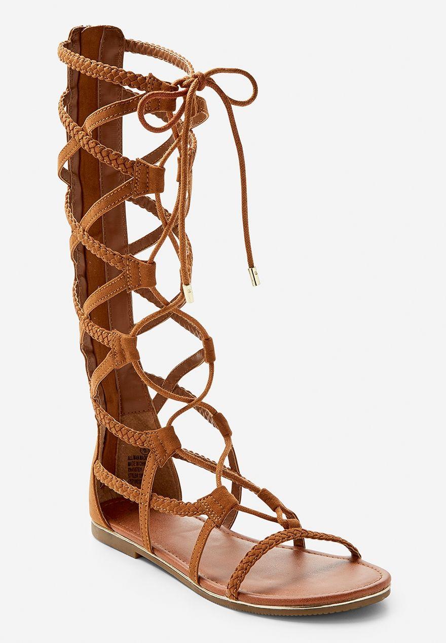 8aa1e9d1daa0d9 Tall Gladiator Sandal