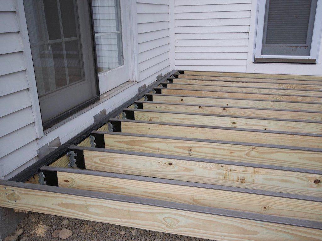 Diy deck building how to waterproof wood framing using