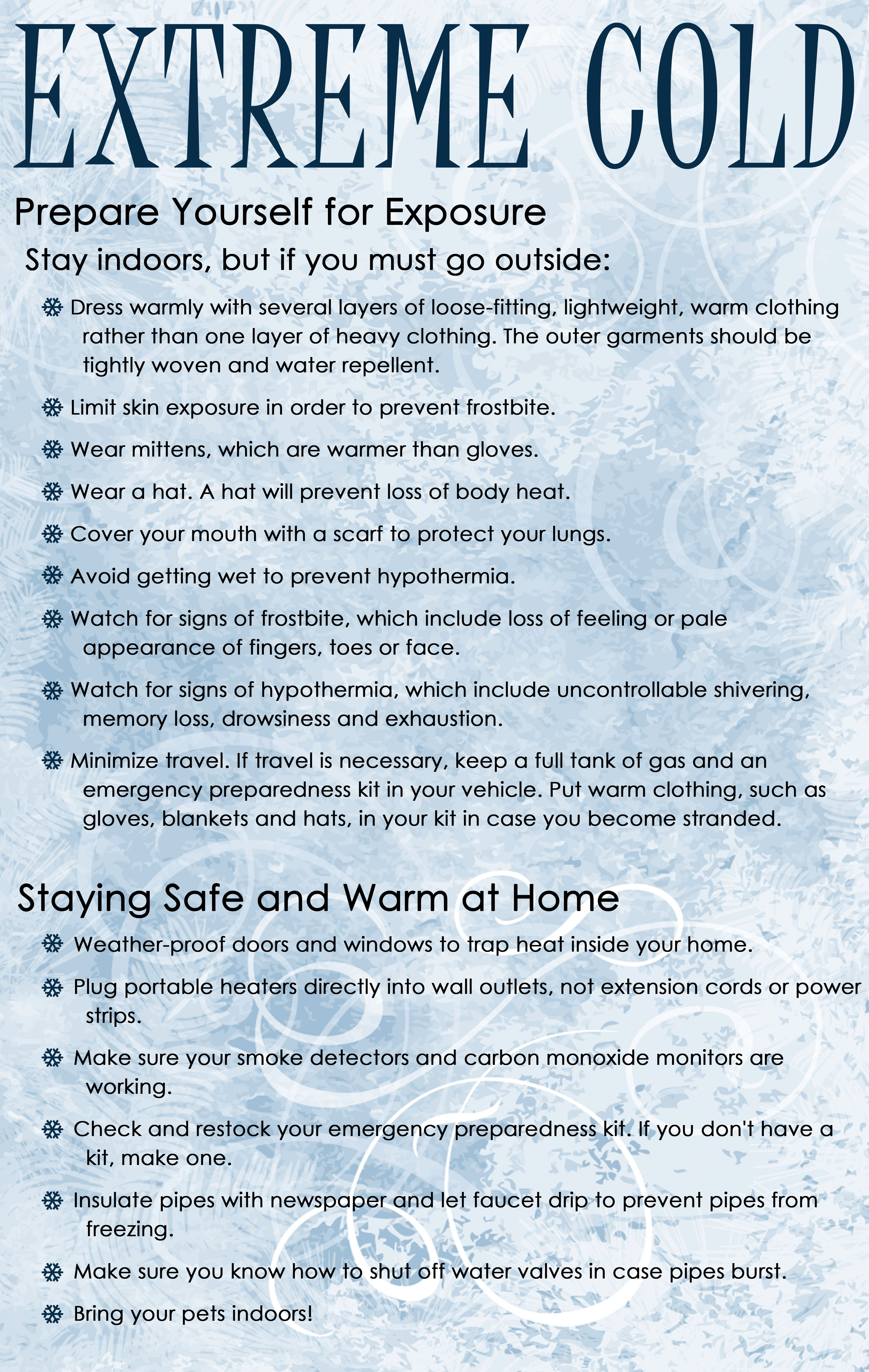 Staying warm in extreme cold temperatures polarvortex - Temperature to keep house in winter ...