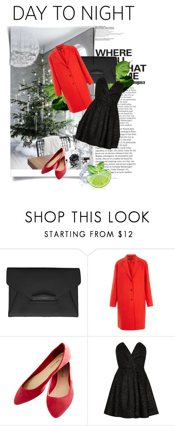 """""""Just A Little Bit O'Simple"""" by alwaysroyal on Polyvore featuring Givenchy, rag & bone, Wet Seal, River Island, contestentry and HolidayParty"""