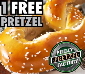 photo regarding Philly Pretzel Factory Coupons Printable named Fb COUPON $$ Coupon for Absolutely free Pretzel at Philly Pretzel