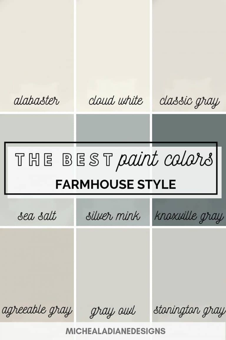 The Best Farmhouse Paint Colors Farmhouse Paint Colors Best Paint Colors Paint Colors For Living Room