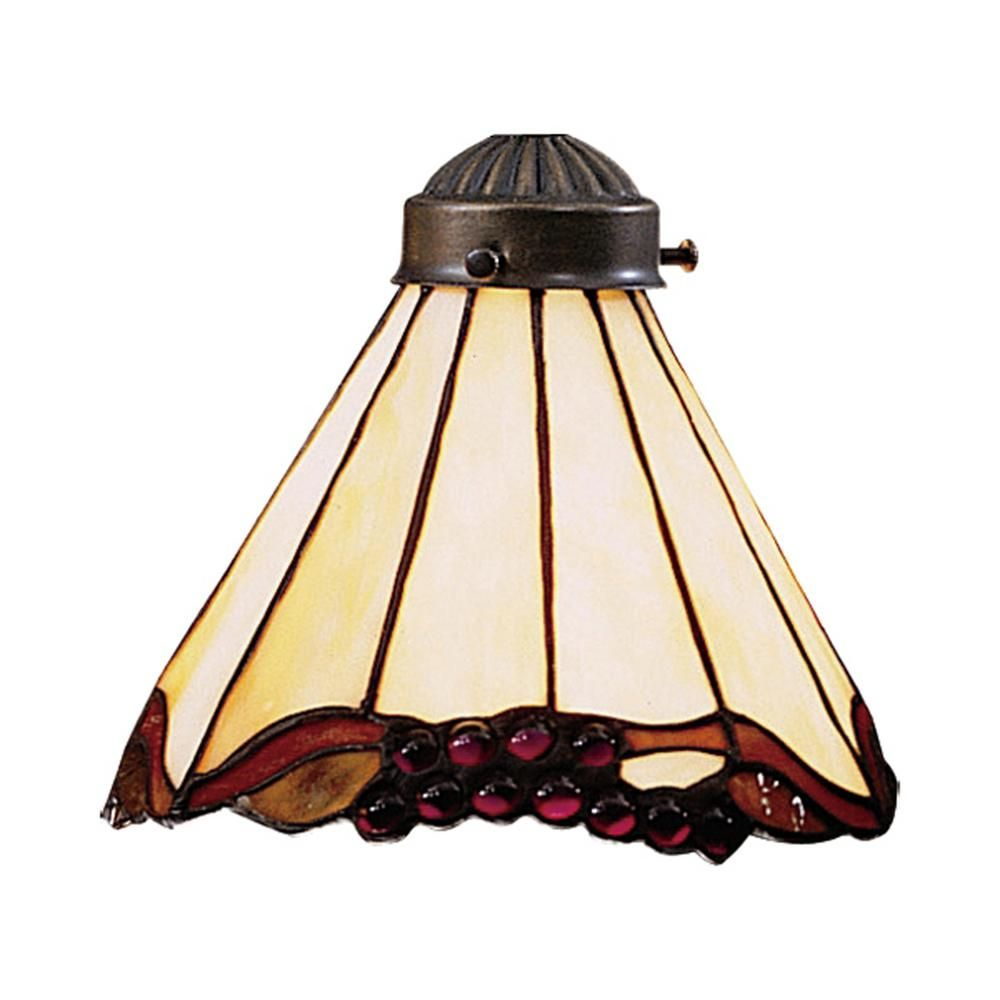 Titan Lighting Mix N Match 1 Light Stained Honey Dune Tiffany Glass Shade Tn 473584 Replacement Glass Shades Ceiling Fan Glass Shades Elk Lighting