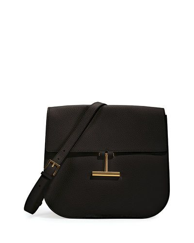 Tom Ford Handbags Leather Saddle Bagsleather Crossbody