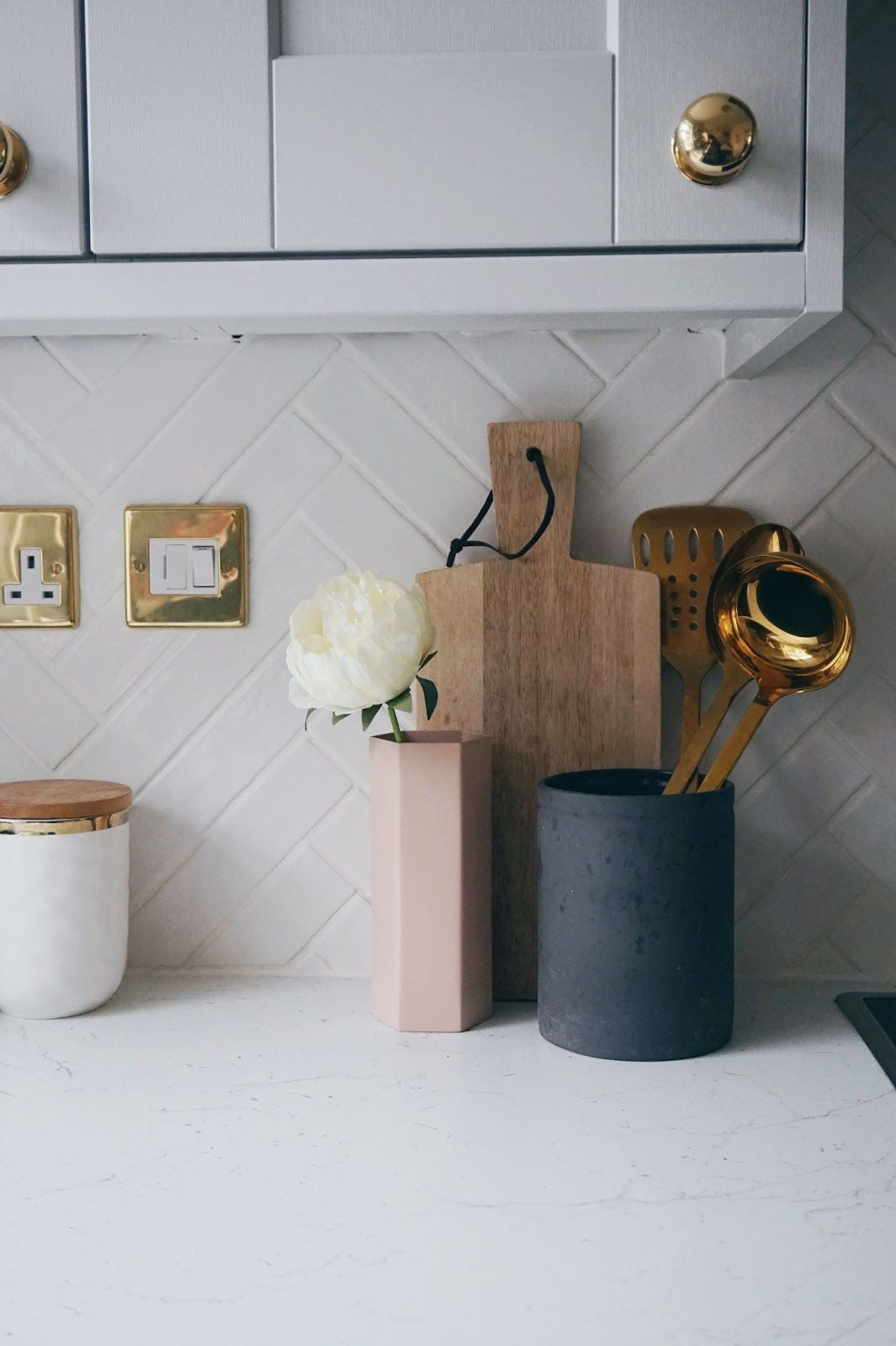 My two tone grey kitchen reveal gray kitchens kitchens and gray