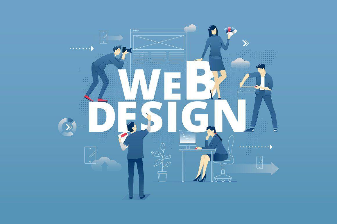 Web design hero banner by svetabelaya on @creativemarket