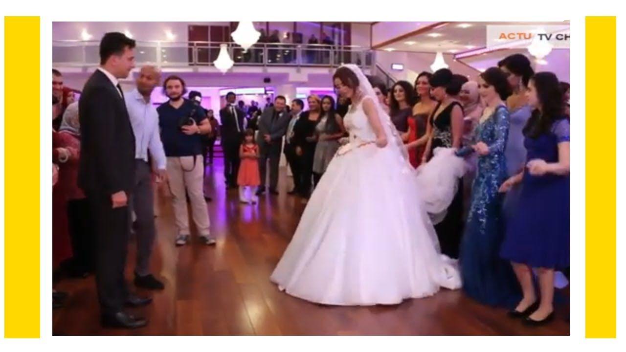 شاهد هذه العروس كيف رقصت لزوجها على اغنية يا ليلي ويا ليلة ريمكس في حفل زفافها