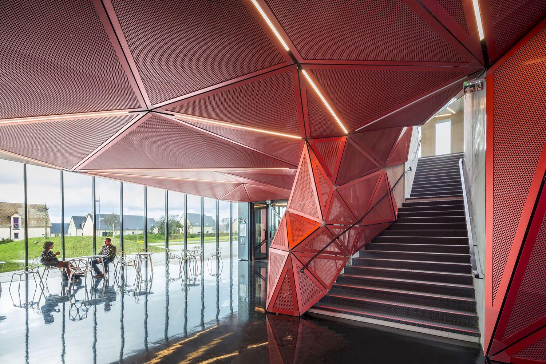 Gallery Of Espace Culturel De La Hague Peripheriques Architectes Marin Trotti Architects 10