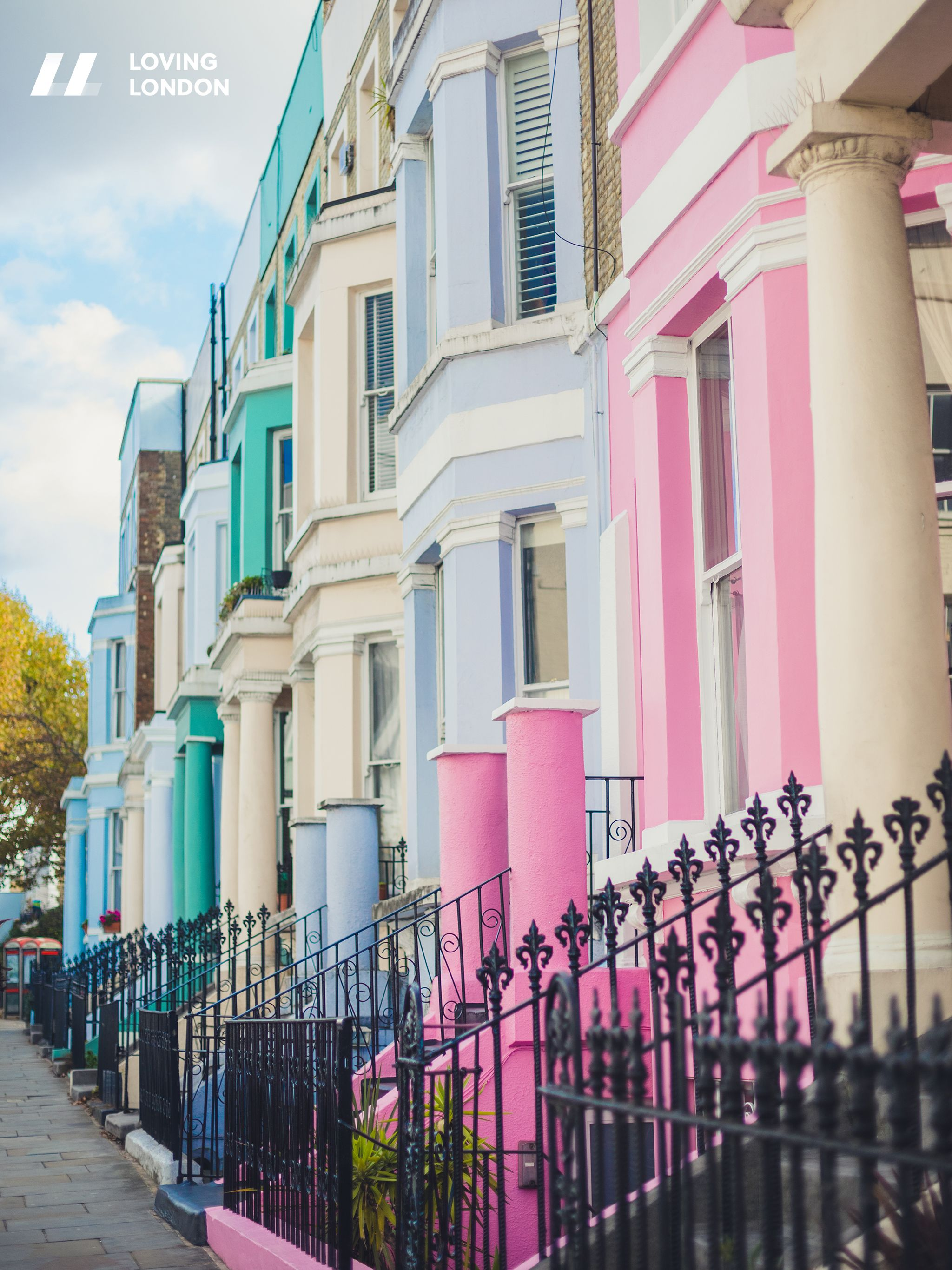 Notting Hill London: London Wallpaper // City Of London // Notting Hill