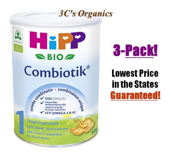 Hipp Organic Combiotic Formula Stage 1 First Infant Milk 900g Dutch Version 0 6 Months 3 Pack Hipp Organic Organic Baby Formula Baby Formula