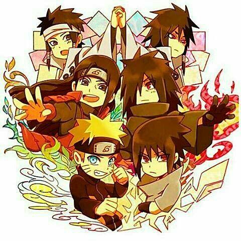 Indra, Asura, Otsutsuki brothers, Hashirama, Madara, Naruto