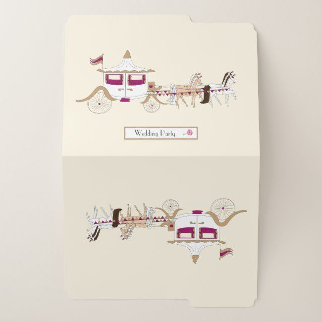 Wedding Organiser File Folder