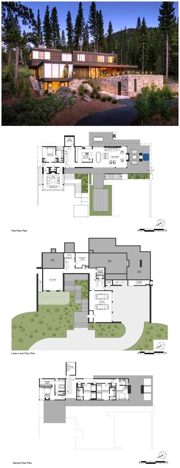 Martis camp 506 blaze makoid architecture camping for Plans d arkitek