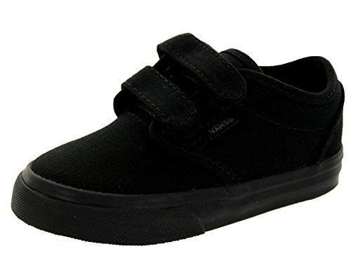 8e8255e820b8 Vans Toddlers Atwood V (Canvas) Black/Black Skate Shoe 5 Infants US ...