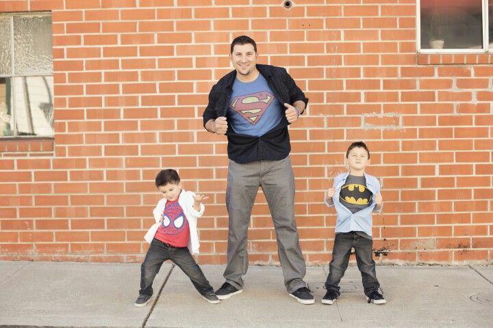 My superheroes!