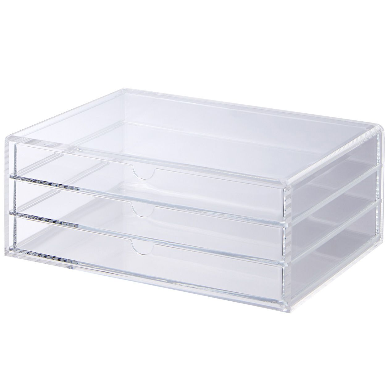 Acrylic Box - 3 Drawers A versatile box with three pull out ...