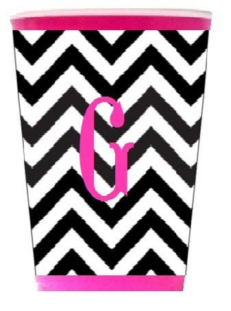 Solo Cup Coozie Zig Zag (Cup Included)