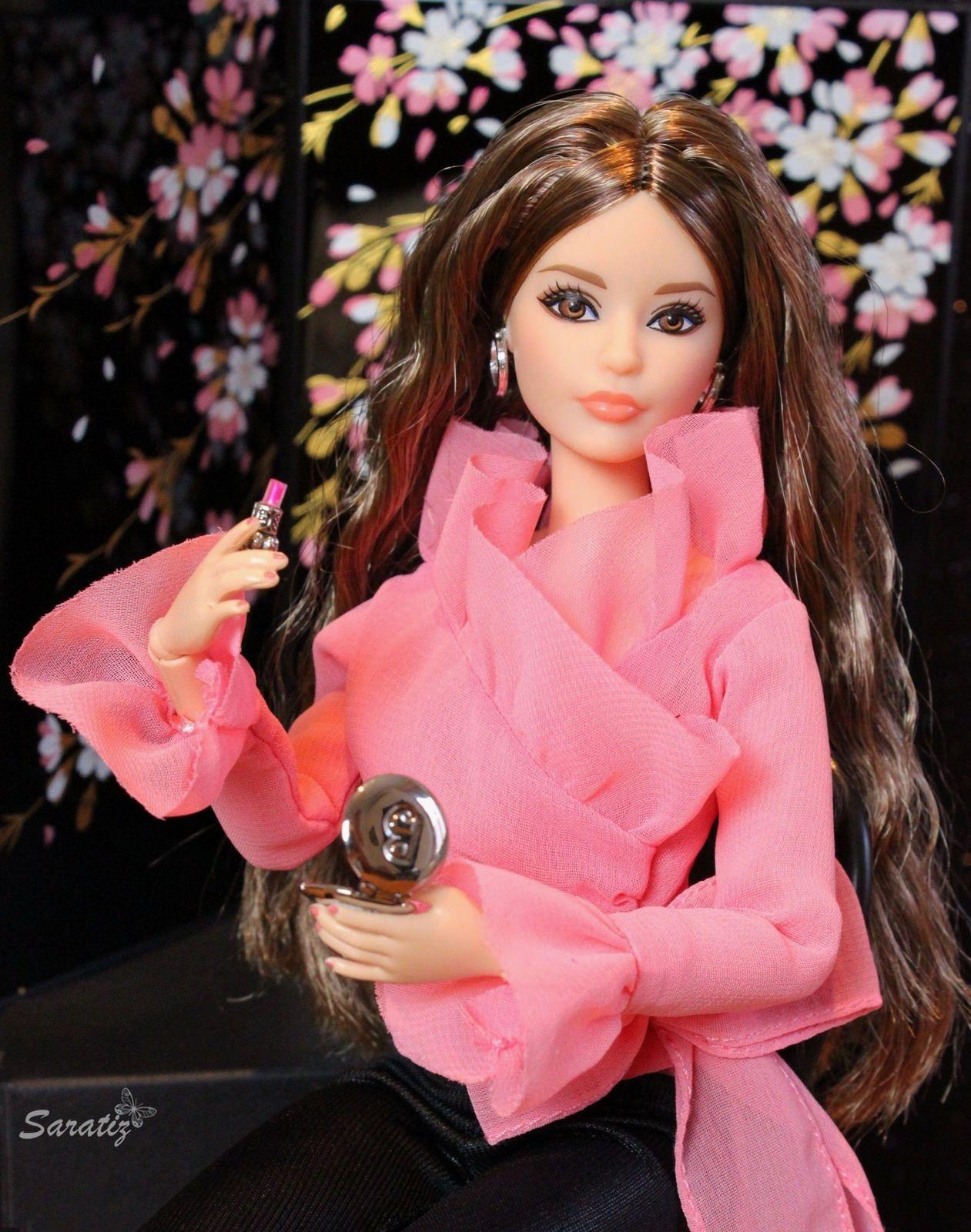 Glamorous pink   Muñecas de articulación esférica, Barbie y Muñecas