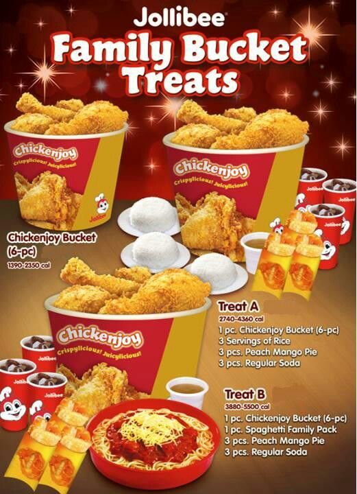 Jollibee Philippines Bucket Menu Meal