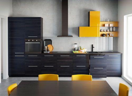 Einfache Einrichtungsideen, die viel her machen Küchen modern - ikea küchenfronten preise