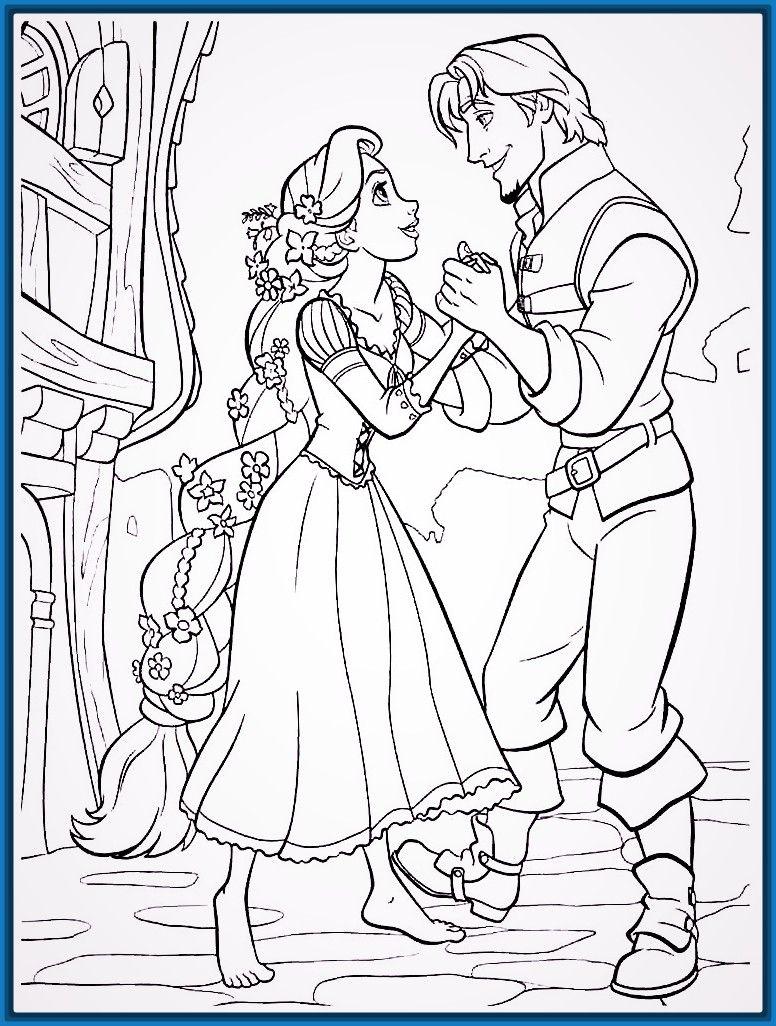 dibujos para colorear de princesas Archivos | Imagenes de ... | Para ...