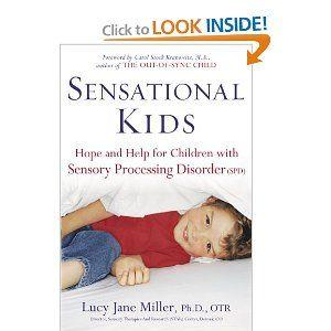 Sensational Kids-fantastic book about sensory processing disorder