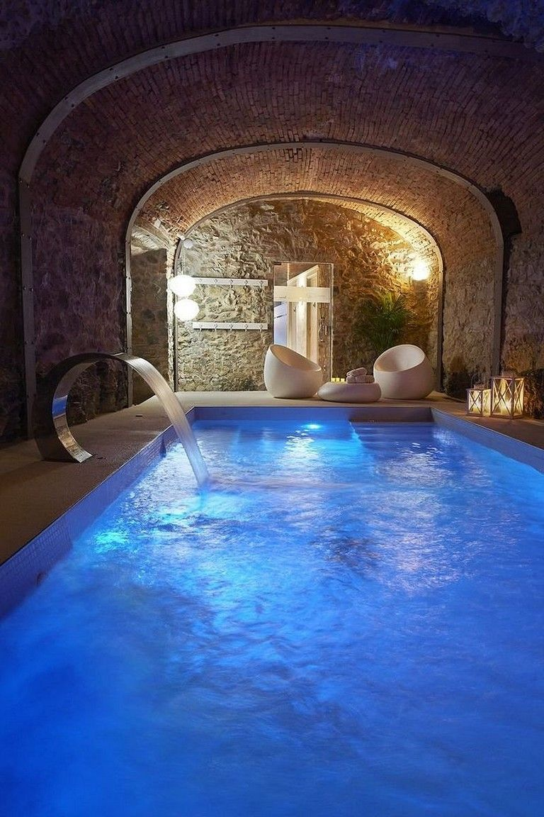 45 Amazing Small Indoor Swimming Pool Design Ideas Luxury
