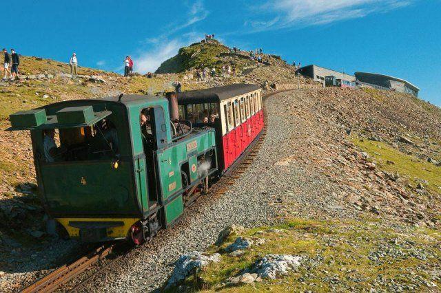 Train - Pays de Galles