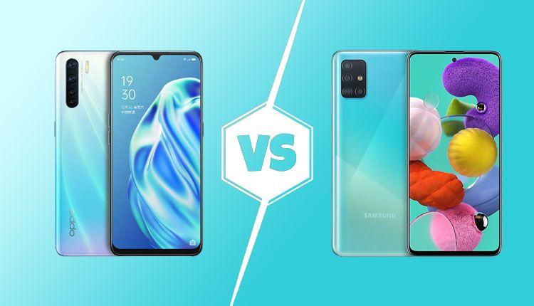 Samsung Galaxy A51 Vs Oppo F15 Specs Comparison In 2020 Samsung Galaxy Galaxy Samsung