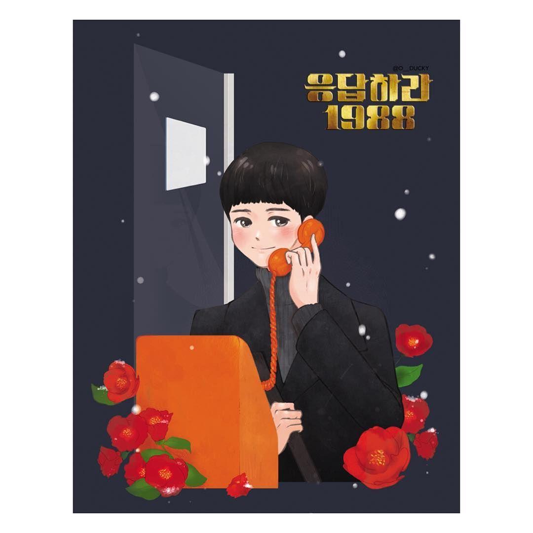 616 생일 합작, #꽃보다보검 최택, 동백꽃 : 누구보다 그대를 사랑합니다. #박보검 #팬아트