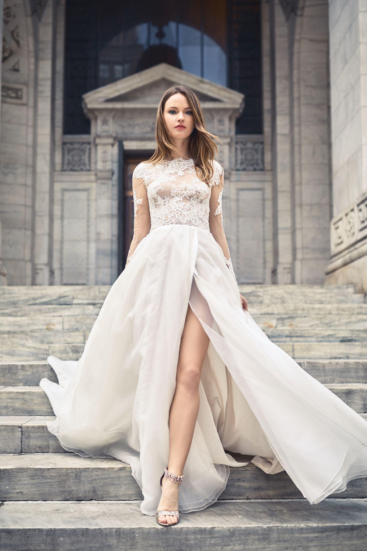 Bliss monique lhuillier spring 2018 bl18108 bliss for Buy monique lhuillier wedding dress