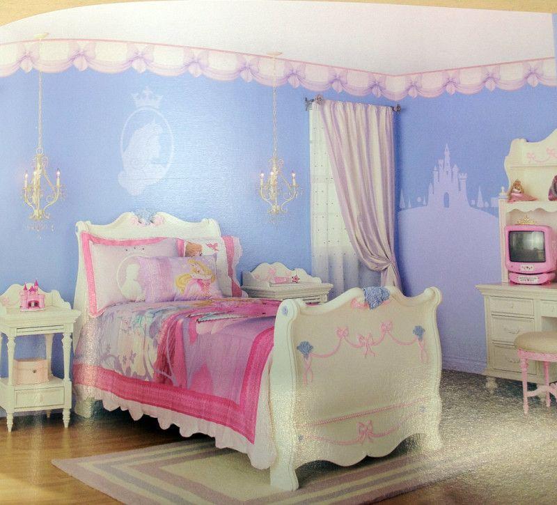 Princess Bedroom Ideas With Colorful Pink Furniture Home Decor Princess Room Decor Disney Princess Room Princess Bedroom Decor