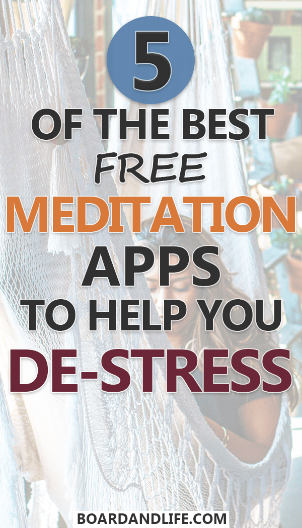 5 Of The Best Free Meditation Apps To Help You DeStress