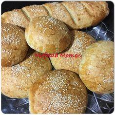 خبز البرجر والخبز الفرنسي بدقيق الشوفان زاكي Healthy Baking Recipes Food