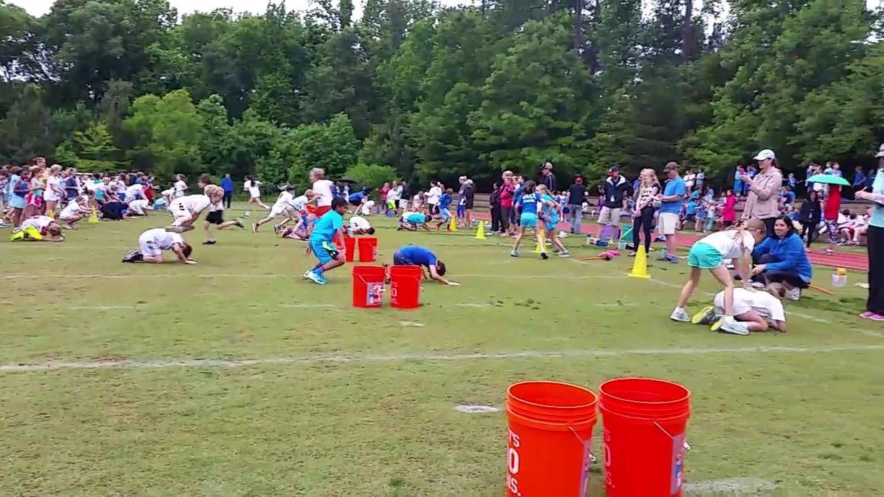 Leap Frog Relay Field Day School sports day, Field day