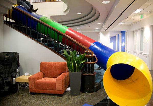 Indoor Slide Interior Design | colorfull | Pinterest | Indoor slides ...