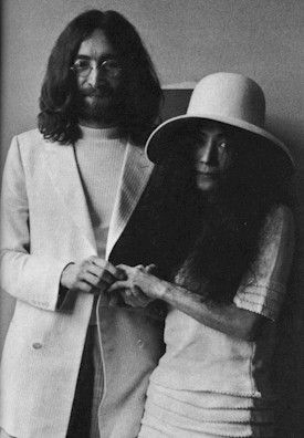John Lennon And Yoko Ono Got Married In Gibraltar On The 20th Of March 1969