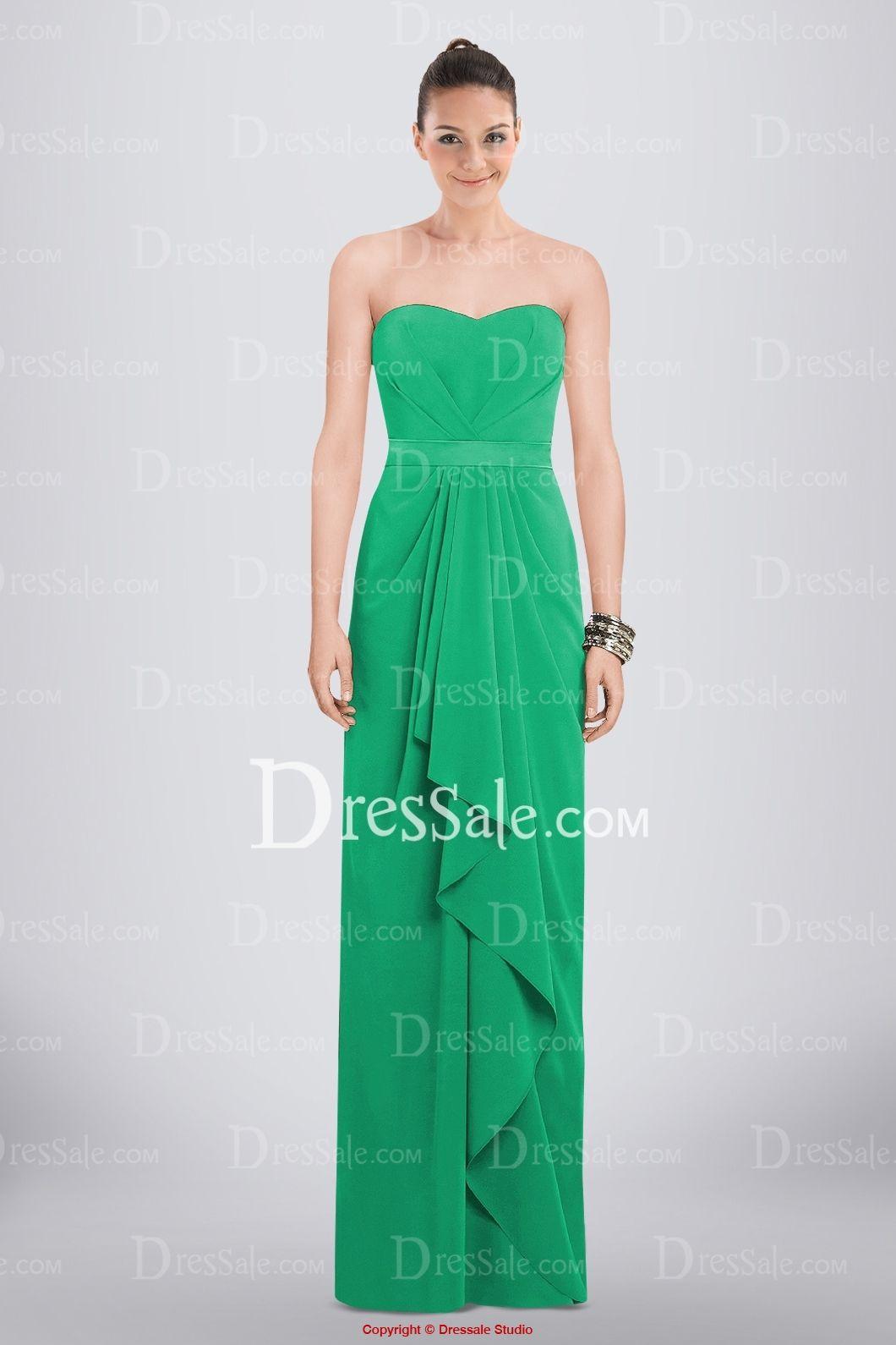 Breezy Sweetheart Floor-length Bridesmaid Dress Featuring Feminine Ruffles