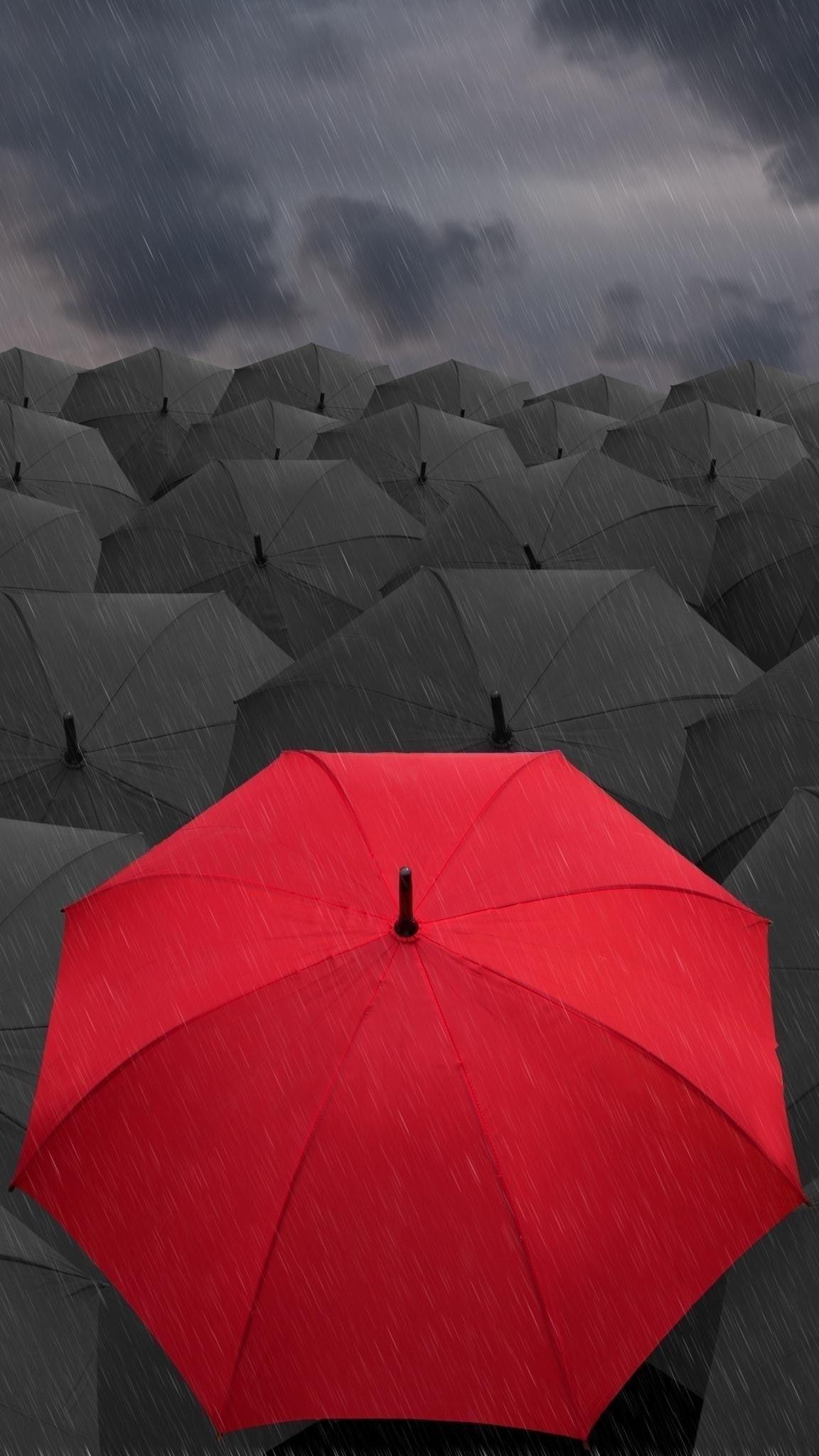 Hd Mobile Wallpaper Kappboom Com Red Umbrella Photography Wallpaper Umbrella