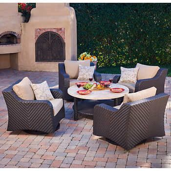 Valencia 5 Piece Chat Set By Mission Hills®