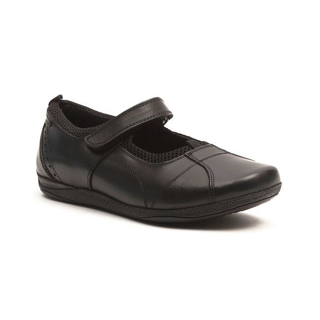 School Shoes Womens Flats Leather Size