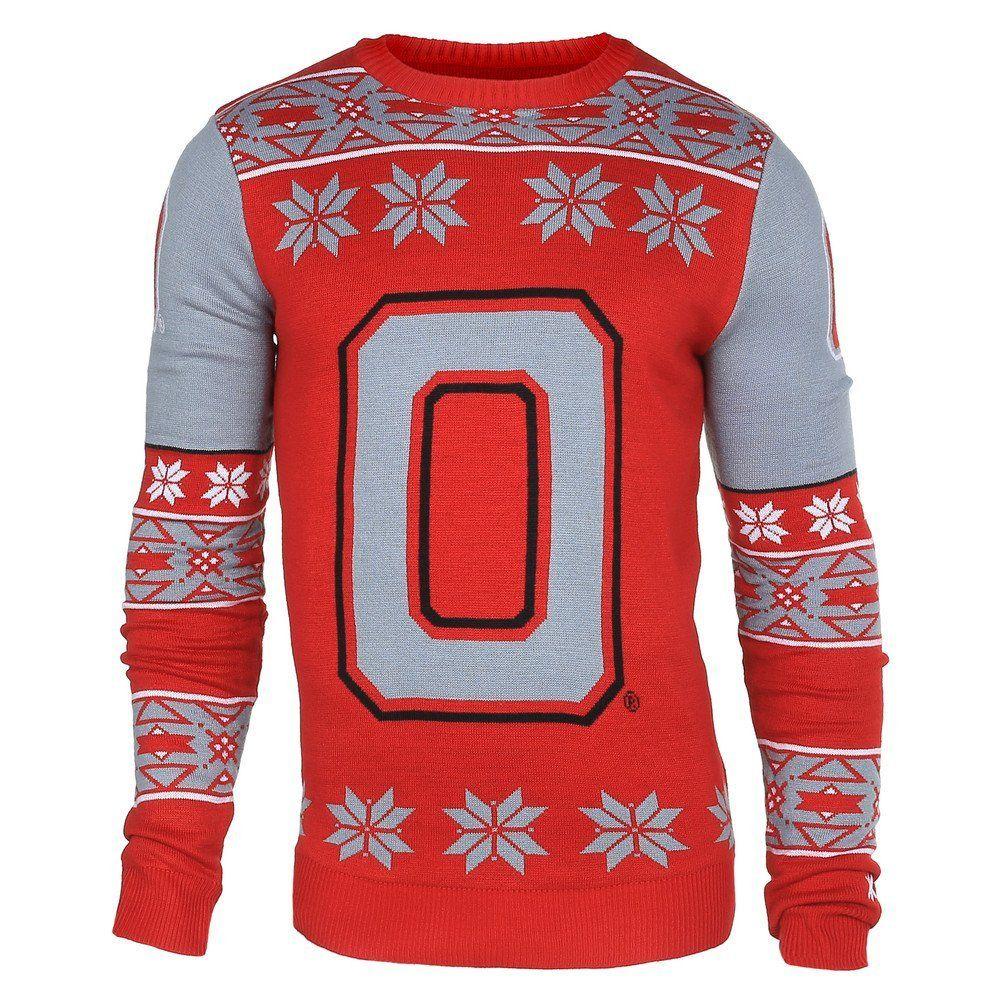 Ohio State Buckeyes Logo Ugly Christmas Sweater | Ohio state ...