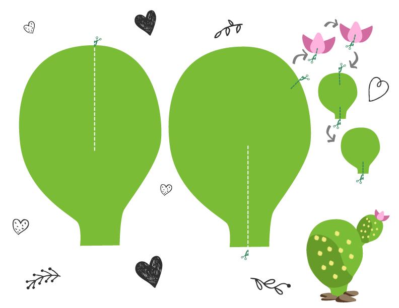 DIY: Cactos de Papel❤ | Pinterest | Cactus de papel, Cactus planta ...
