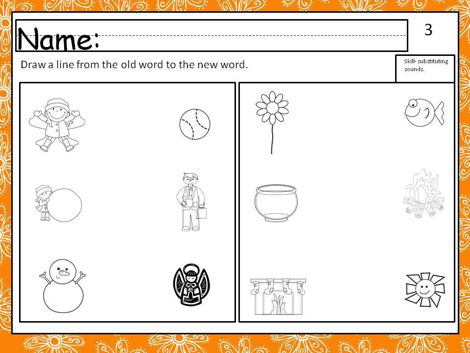 Printable Worksheets phoneme deletion worksheets : Worksheet and directions for teaching phoneme deletion. This is a ...