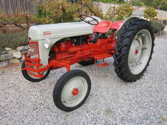 Ford 8n High Crop 8n Ford Tractor Ford Tractors Vintage Tractors