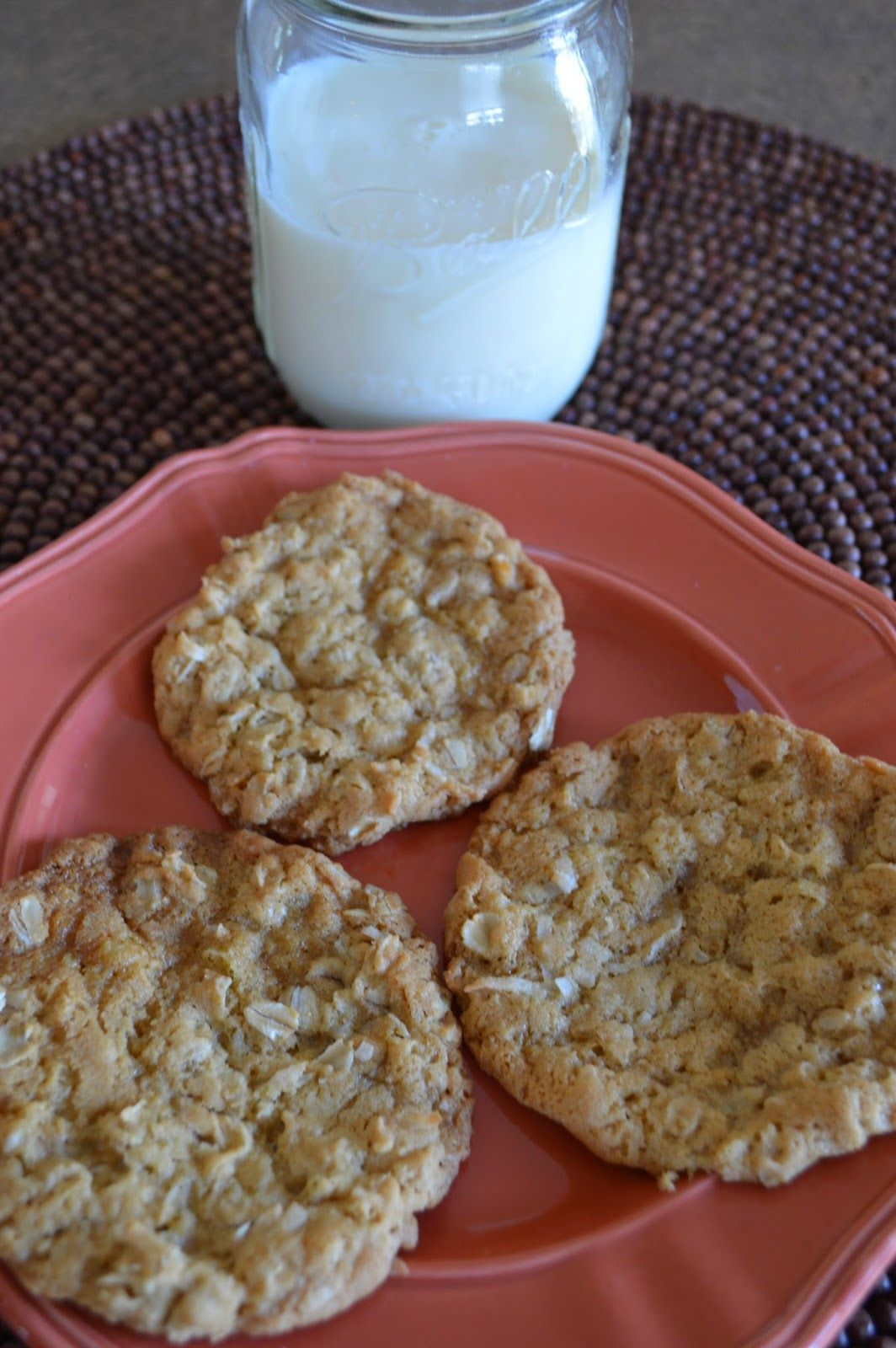 Maple Coconut Oat Cookies - From Scratch